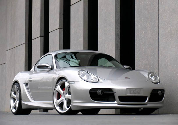 Techart Cayman Front Lip For 2006 2008 Cayman S