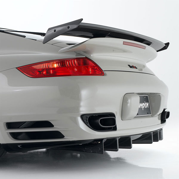 Werks1 Carbon Fiber Rear Diffuser For 997 Turbo 2010 997