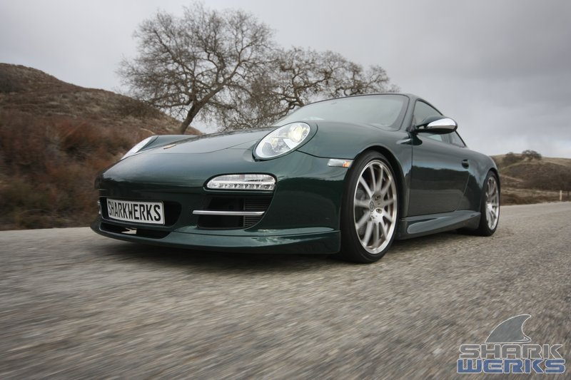 shark werks tuning guide for porsche 997 2 carrera / s / 4 / 4s / gts  (2009-2012)