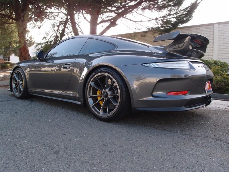 Porsche 911 Turbo S >> Porsche 2015 991 GT3 with Shark Werks Exhaust Agate Grey Project - Shark Werks