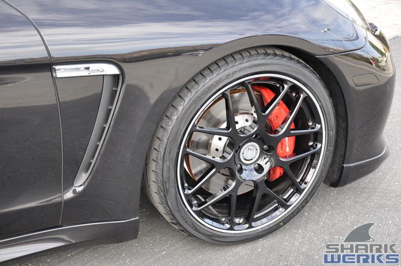 2010 Porsche Panamera Turbo With Hre Wheels Techart Aerokit Exhaust