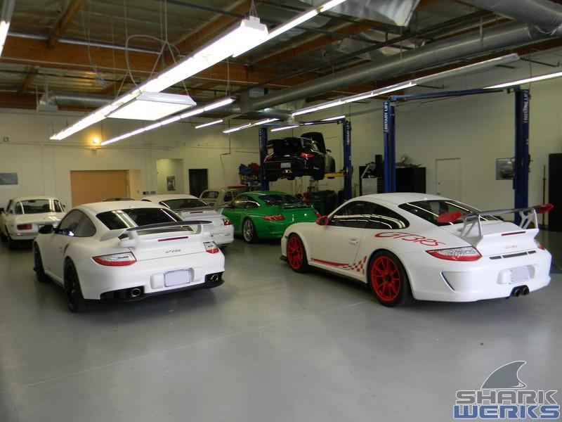 Porsche 2011 997 Gt3rs With Sharkwerks Exhaust Evomsit Rss Suspension Rollbar Project Shark Werks
