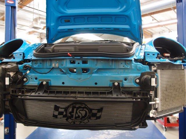 CSF All-Aluminum Performance Center Radiator for 997 / 997 2 GT3