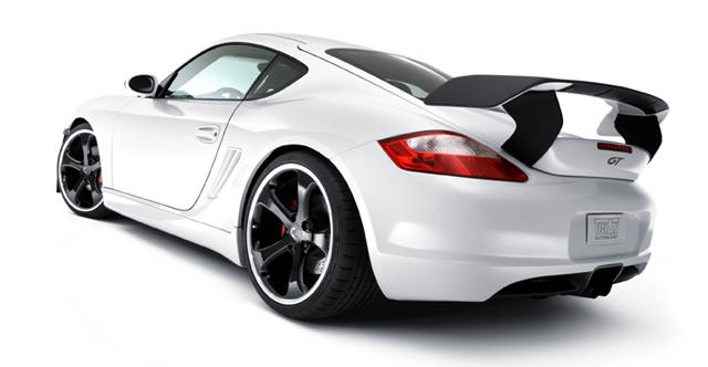 Techart Gts Rear Wing For 987 9872 Cayman Boxster Part