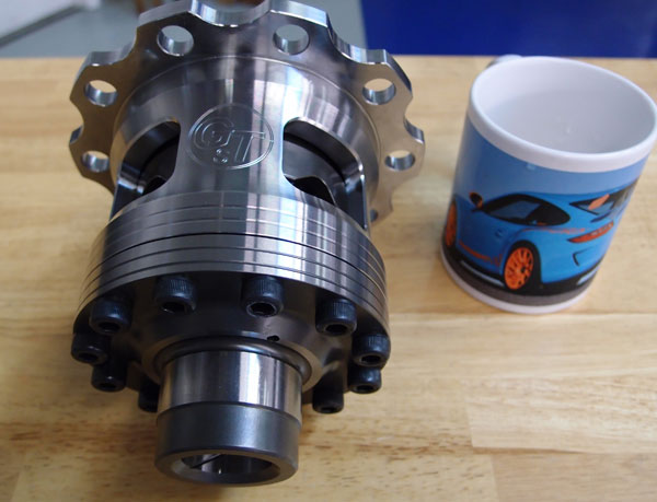 Guard Limited Slip Differential For 987 9872 Cayman